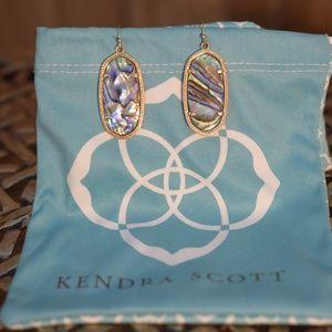 Kendra Scott Elle Abalone Shell Earrings